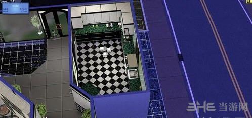 模拟人生3黑白风格的别墅MOD截图0