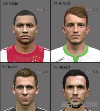 实况足球2016四款球员脸型补丁截图0