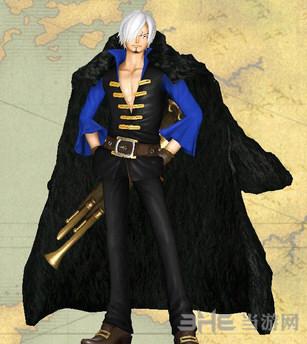 海贼王无双3香吉士黑衣白发MOD截图0