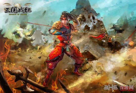三国战纪PS4版游戏原画3
