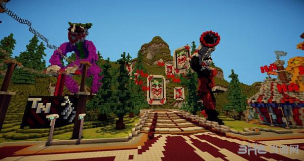 我的世界版小丑乐园1