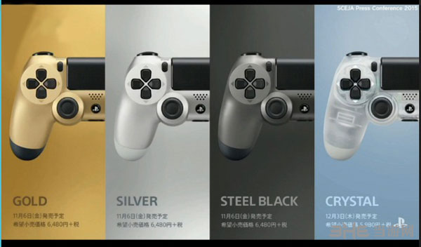 索尼PS4新配色手柄