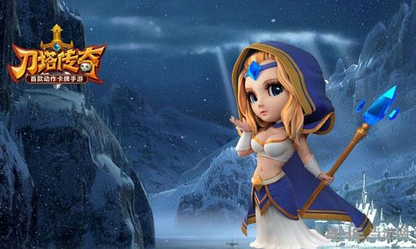 刀塔传奇游戏宣传图