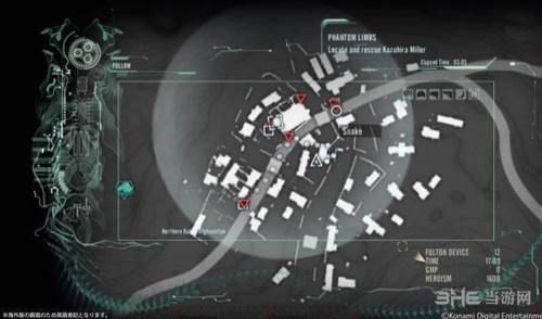 合金装备5幻痛小地图1