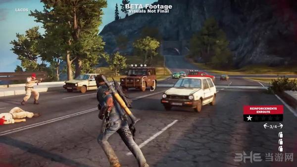 日前,Avalanche工作室放出了经典TPS游戏正当防卫3(Just Cause 3)的最新实机演示视频,展示了游戏主角飞檐走壁的矫健身手。让我们先来欣赏一下吧。 日前,Avalanche工作室放出了经典TPS游戏正当防卫3(Just Cause 3)的最新实机演示视频。 我们可以看到,视频中主角Rico Rodriguez使用滑翔翼和钩索飞檐走壁指哪打哪,完全不愧最强的杀人武器这一称号。至于那不科学的起降过程,让我们忽略它吧。游戏将主战场设定在了地中海的一个岛国Medici上,此地大致可以分为5个区