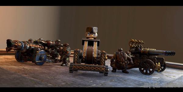 全面战争战锤矮人火炮