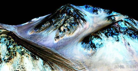 NASA发现火星上有液态水存在痕迹