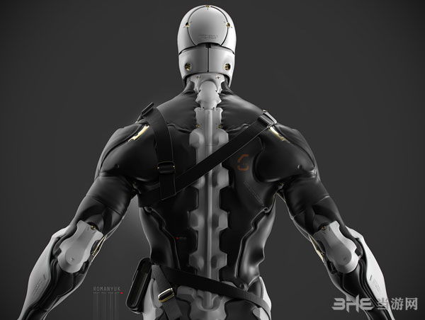 合金装备系列灰狐3D建模截图3
