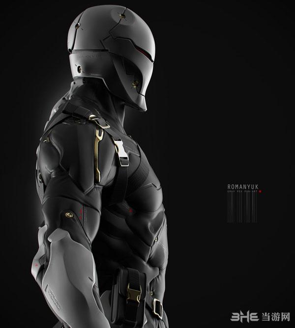 合金装备系列灰狐3D建模截图4