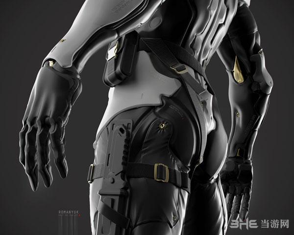 合金装备系列灰狐3D建模截图2