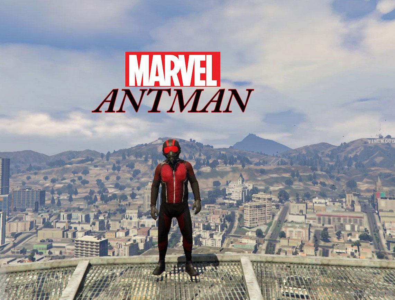 侠盗猎车手5 ANT-MAN蚁人MOD截图0