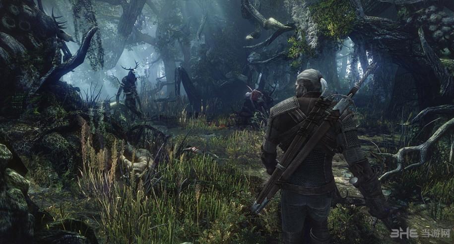 巫师3:狂猎随时随地翻滚防守MOD截图0