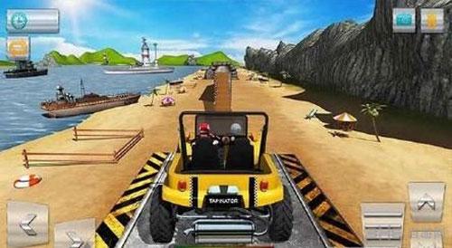 特技赛车3D沙滩狂热电脑版截图0