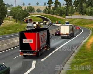 欧洲卡车模拟2 AI货车提速MOD截图0