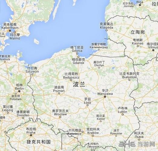 巫师3:狂猎》游戏地图和真实波兰地图毫无违和感21