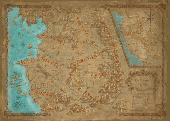 巫师3:狂猎》游戏地图和真实波兰地图毫无违和感41