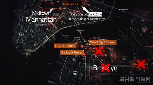 《全境封锁》最新游戏资料显示地图内容大大减少1