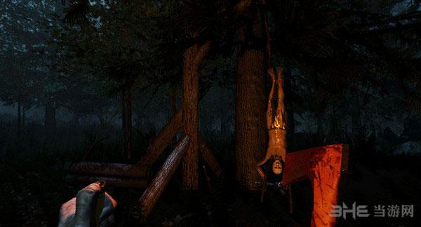 森林游戏砍树技巧1