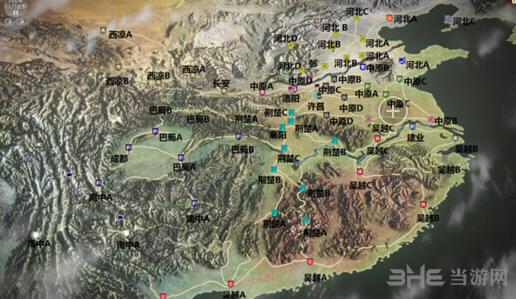 三国志13城镇模型介绍
