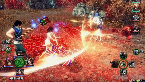 轩辕剑外传穹之扉PS4版预告截图2