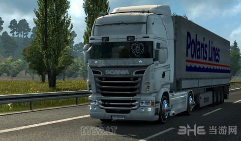 欧洲卡车模拟2音乐警笛MOD截图0