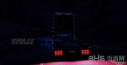 欧洲卡车模拟2斯堪尼亚R730灯光MOD截图1