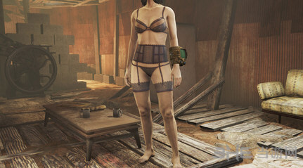 辐射4性感衣服MOD截图0