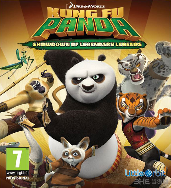 功夫熊猫传奇游戏封面