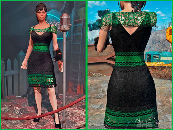 辐射4新花边裙子MOD截图0
