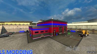 欧洲卡车模拟2新卡车商店外观MOD截图0