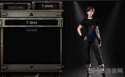 生化危机0高清重制版有丝青涩的蕾贝卡T恤DLC截图0