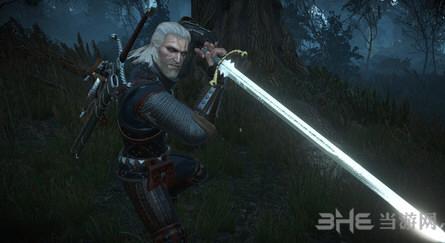 巫师3:狂猎超长银剑MOD截图0