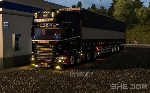 欧洲卡车模拟2全新灯光效果MOD截图0