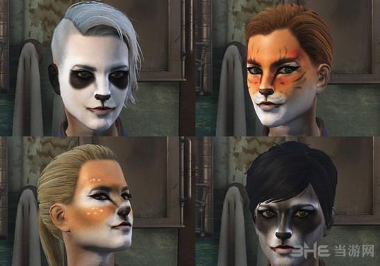 辐射4动物脸涂装MOD截图0