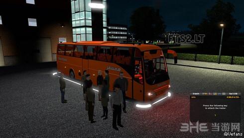 欧洲卡车模拟2乘客MOD截图0