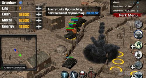 超级坦克沙漠风暴3电脑版截图0