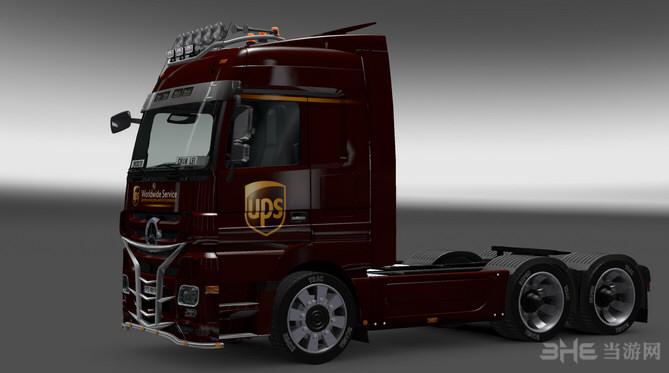 欧洲卡车模拟2美国卡车加载界面MOD截图0