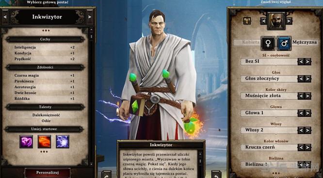 神界3:原罪加强版更多可选发型MOD截图0