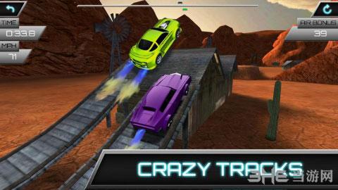 汽车飞跃比赛电脑版截图0