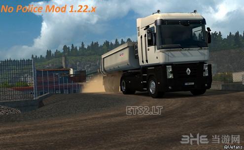 欧洲卡车模拟2无警察MOD截图0