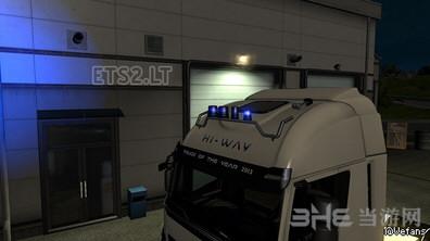 欧洲卡车模拟2蓝色灯塔MOD截图0