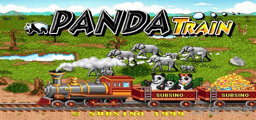 熊猫列车截图0