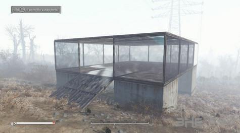 辐射4玻璃幕墙MOD截图1