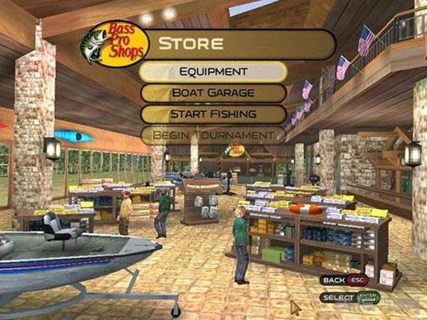 模拟专业钓鱼2009截图1