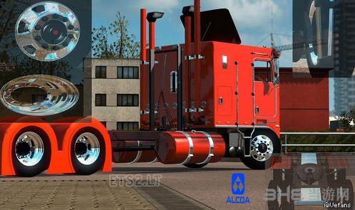 欧洲卡车模拟2美铝轮毂和车轮MOD截图0