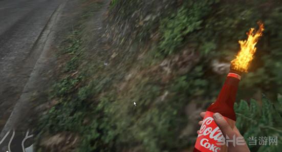 侠盗猎车手5可口可乐燃烧瓶MOD截图0