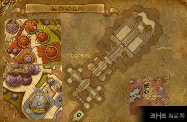 魔兽世界7.0圣光秘殿截图2