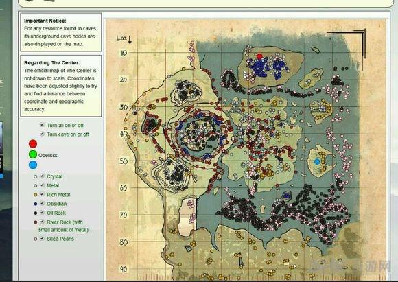 方舟生存进化中心岛4