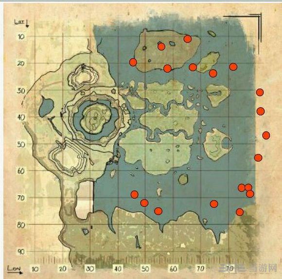 方舟生存进化中心岛1