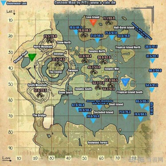 方舟生存进化中心岛3